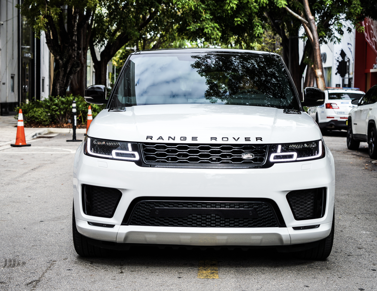 Image #4 of our  Range Rover Sport 22 White    In Miami Fort Lauderdale Palm Beach South Florida