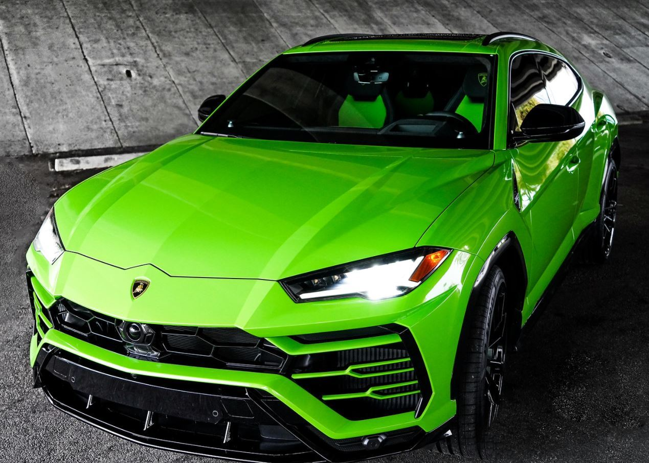 Image #1 of our  2022 Lamborghini Urus  Green    In Miami Fort Lauderdale Palm Beach South Florida