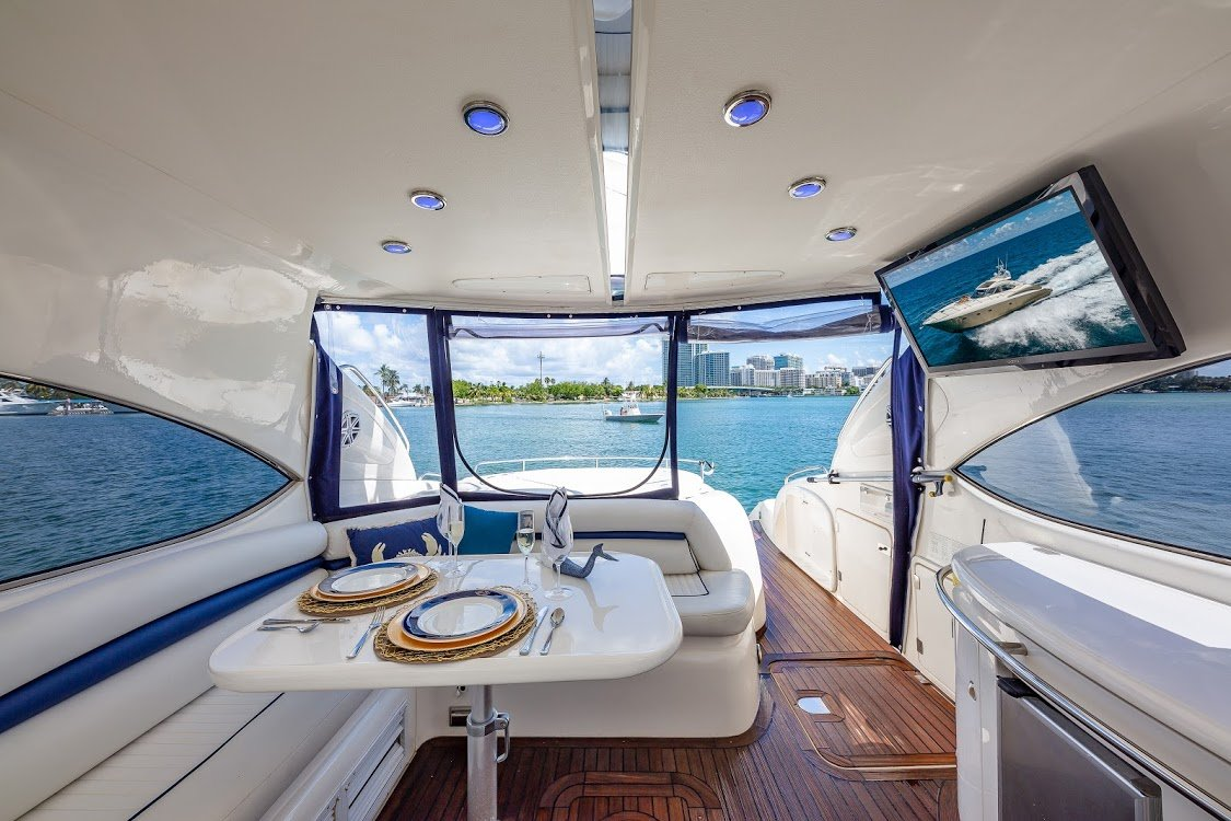 Image #2 of our  60′ SUNSEEKER   () In Miami Fort Lauderdale Palm Beach South Florida