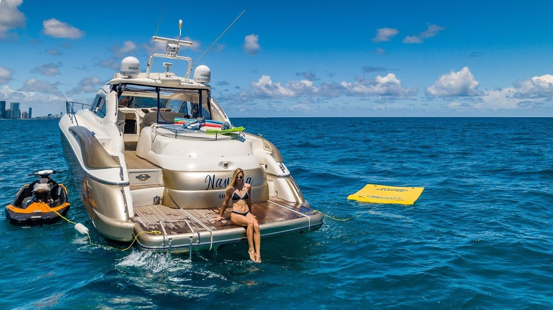 Image #4 of our  60′ SUNSEEKER   () In Miami Fort Lauderdale Palm Beach South Florida