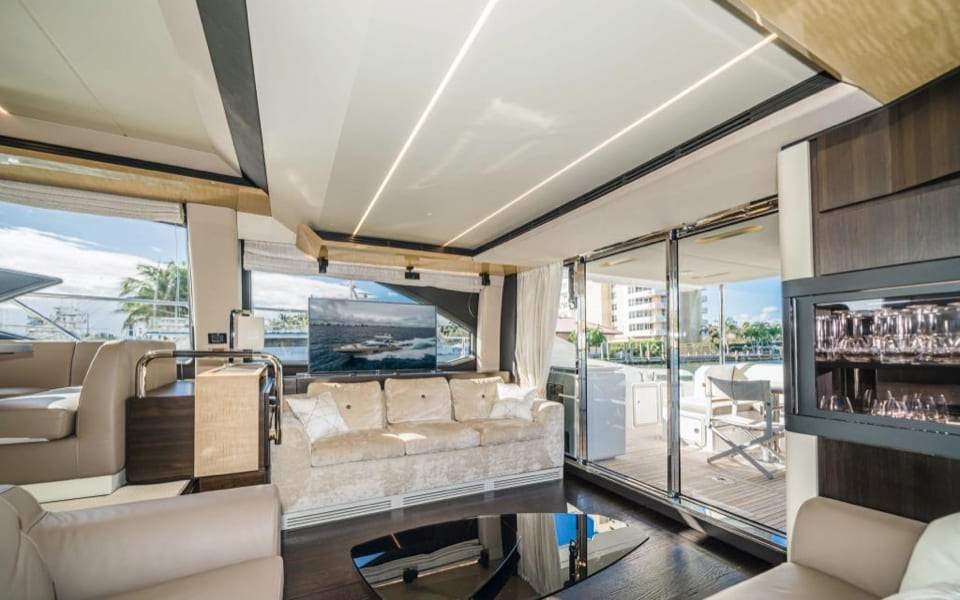 Image #4 of our  66′ AZIMUT FLYBRIDGE   () In Miami Fort Lauderdale Palm Beach South Florida