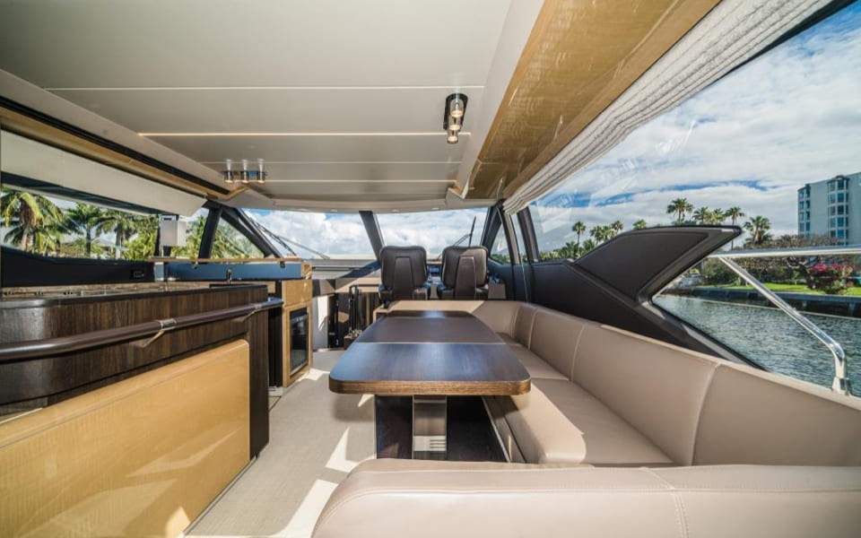 Image #6 of our  66′ AZIMUT FLYBRIDGE   () In Miami Fort Lauderdale Palm Beach South Florida