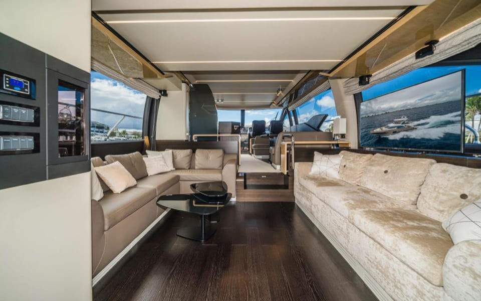 Image #8 of our  66′ AZIMUT FLYBRIDGE   () In Miami Fort Lauderdale Palm Beach South Florida
