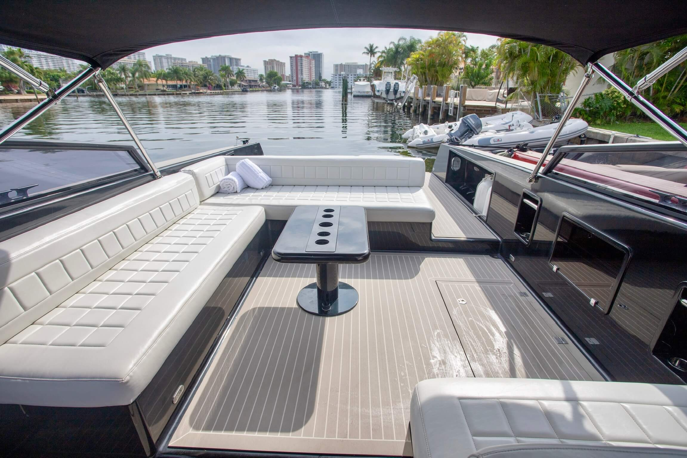 Image #6 of our  40′ VANDUTCH BLACK   () In Miami Fort Lauderdale Palm Beach South Florida
