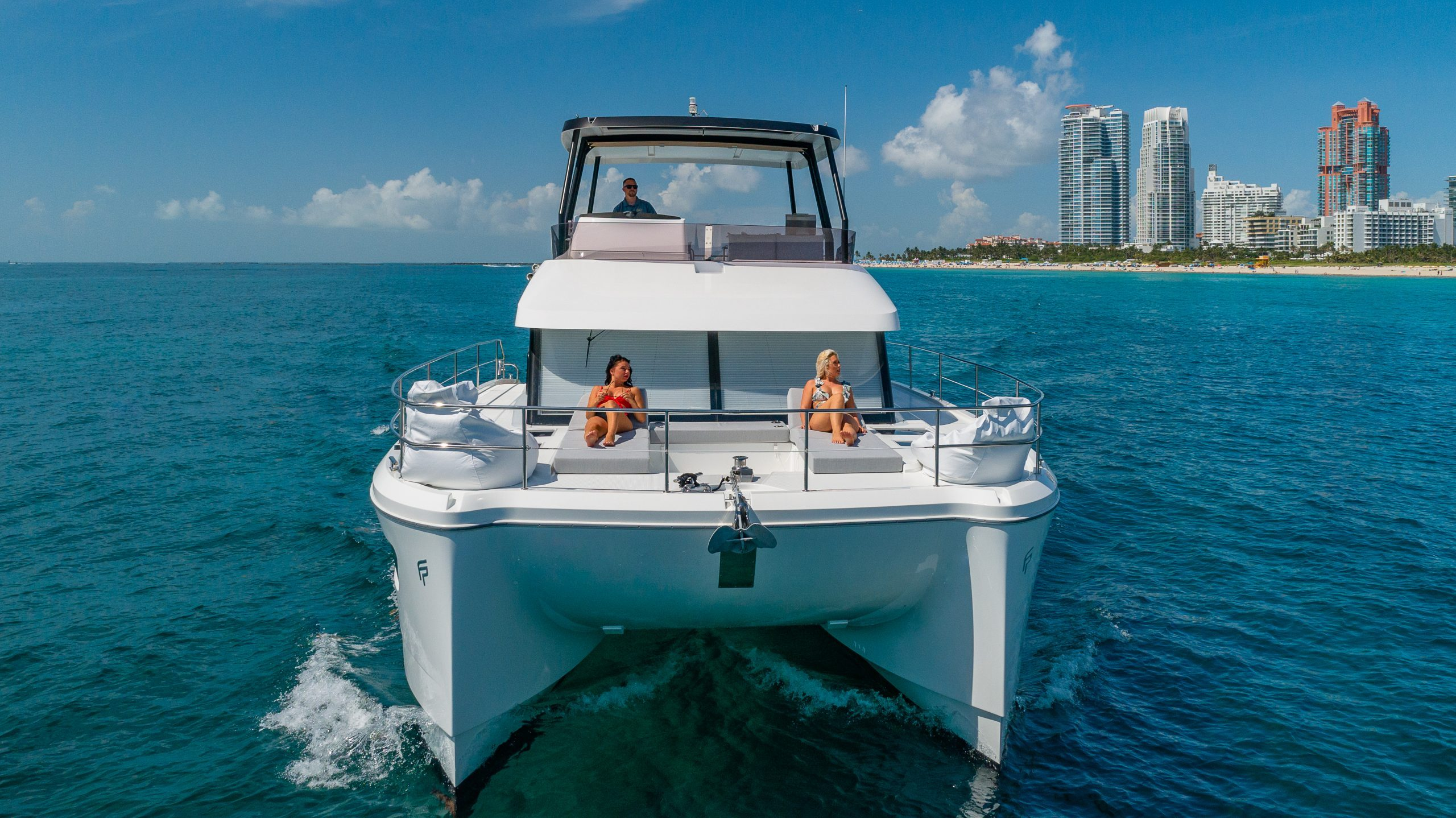 Image #1 of our  50′ FOUNTAINE PAJOT    In Miami Fort Lauderdale Palm Beach South Florida