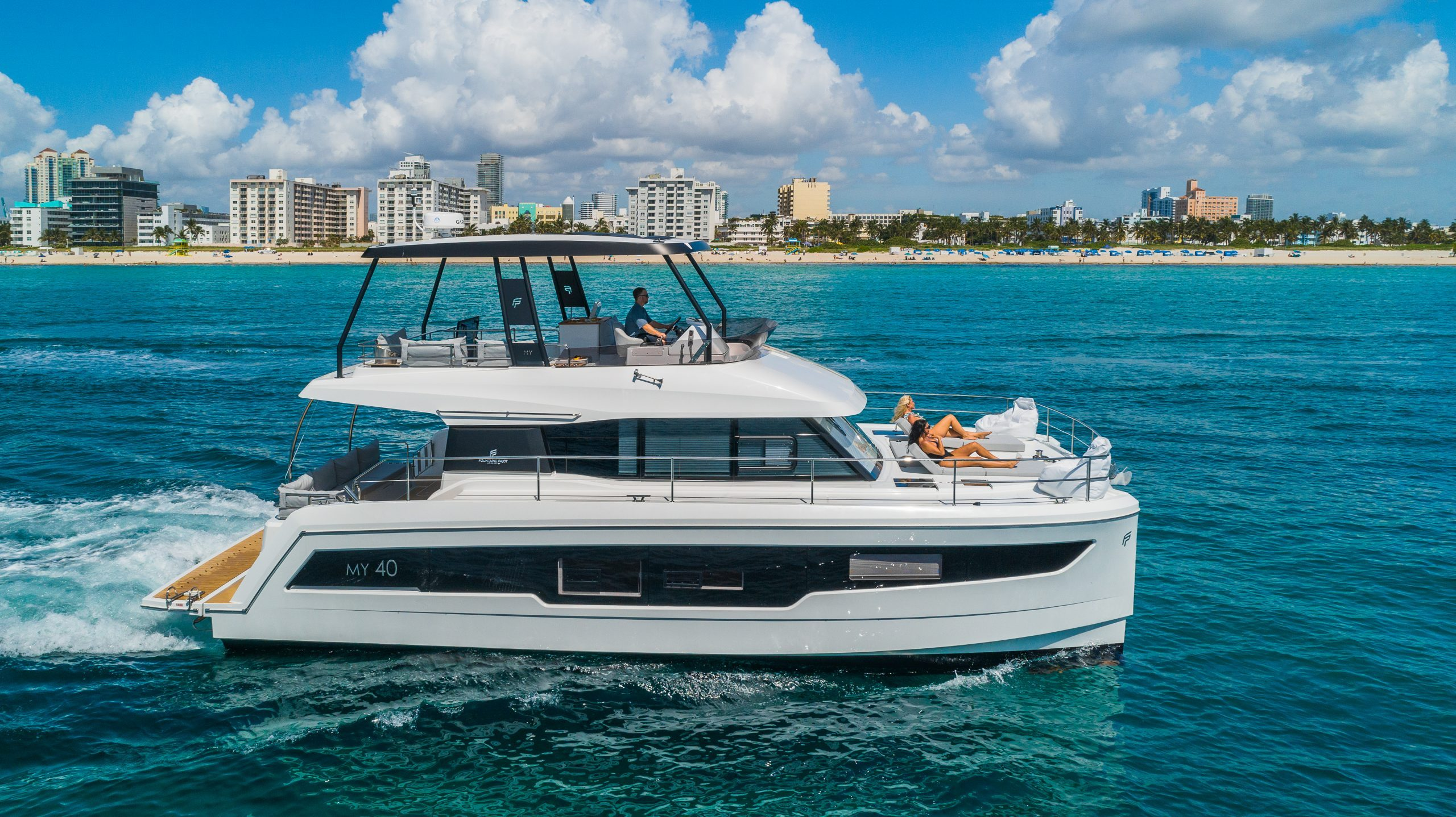 Image #2 of our  50′ FOUNTAINE PAJOT    In Miami Fort Lauderdale Palm Beach South Florida