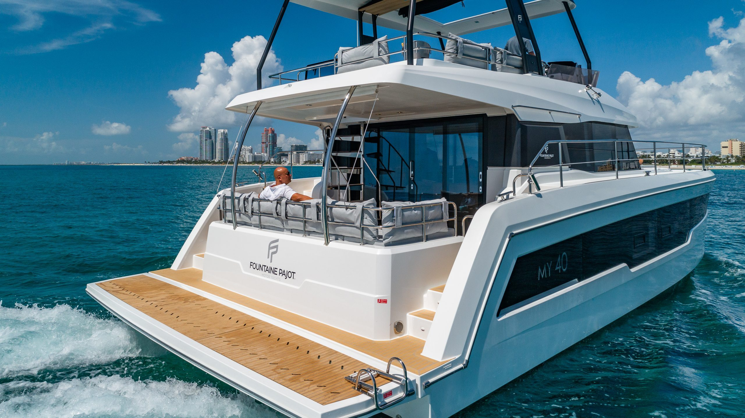 Image #4 of our  50′ FOUNTAINE PAJOT    In Miami Fort Lauderdale Palm Beach South Florida