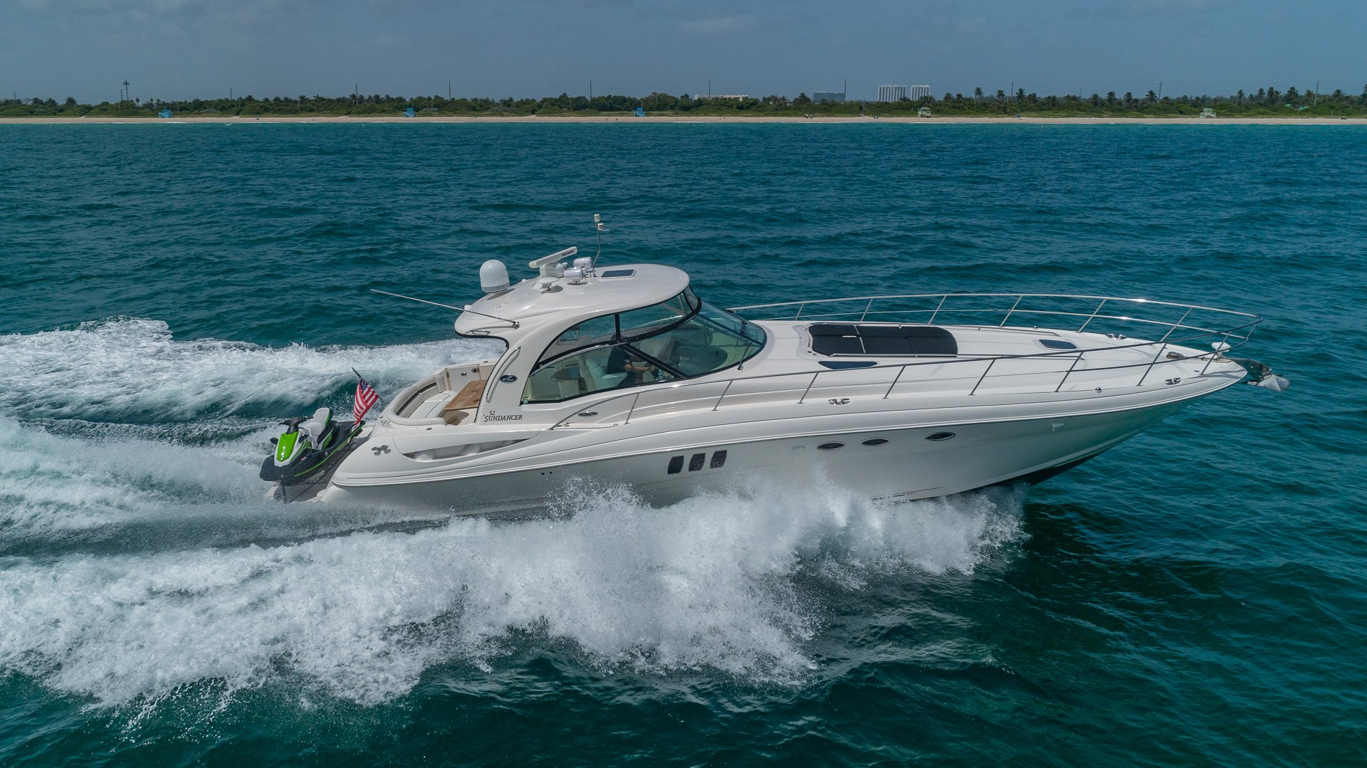 Image #2 of our  55′ SEARAY SUNDANCER   () In Miami Fort Lauderdale Palm Beach South Florida