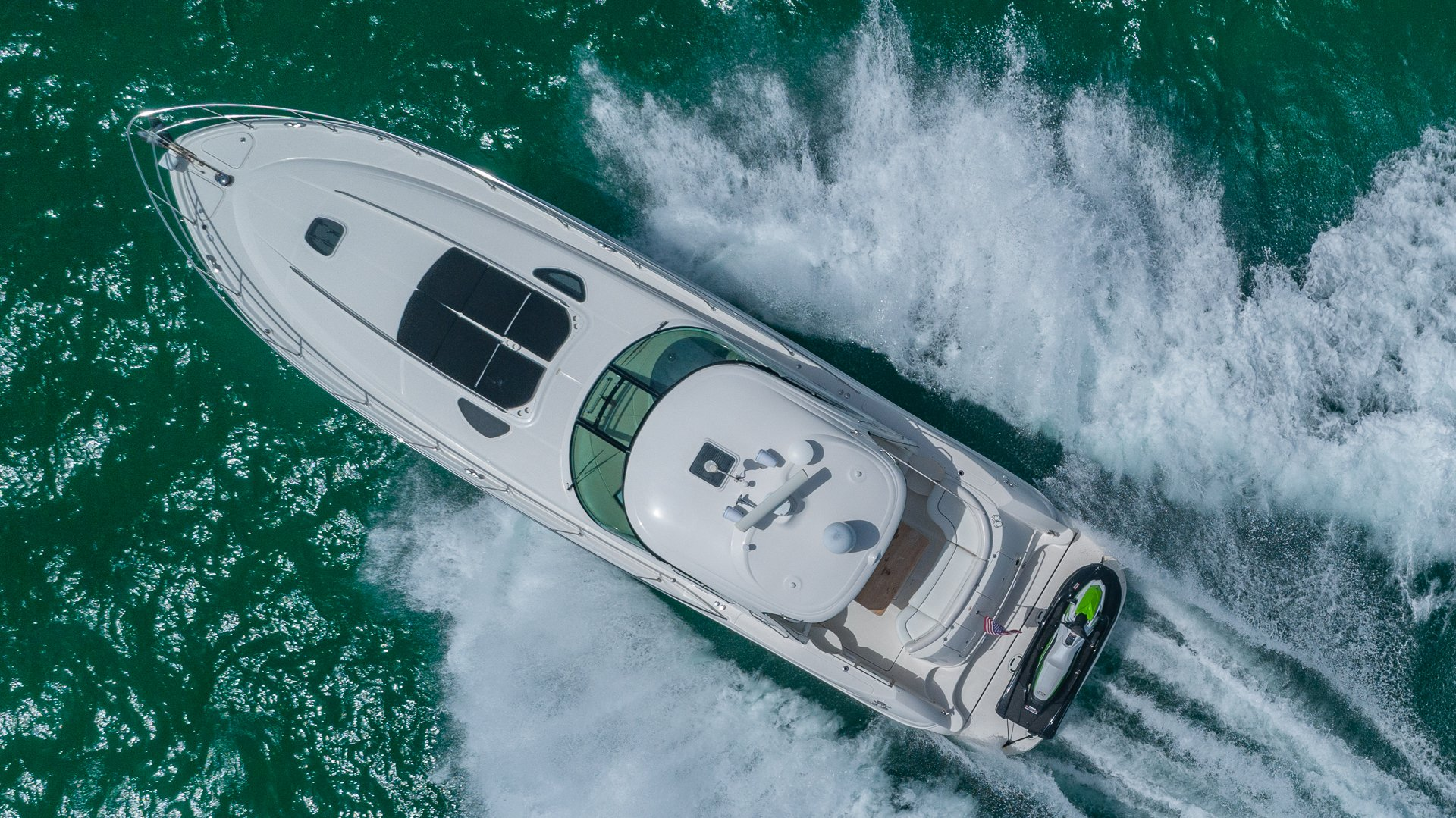 Image #5 of our  55′ SEARAY SUNDANCER   () In Miami Fort Lauderdale Palm Beach South Florida