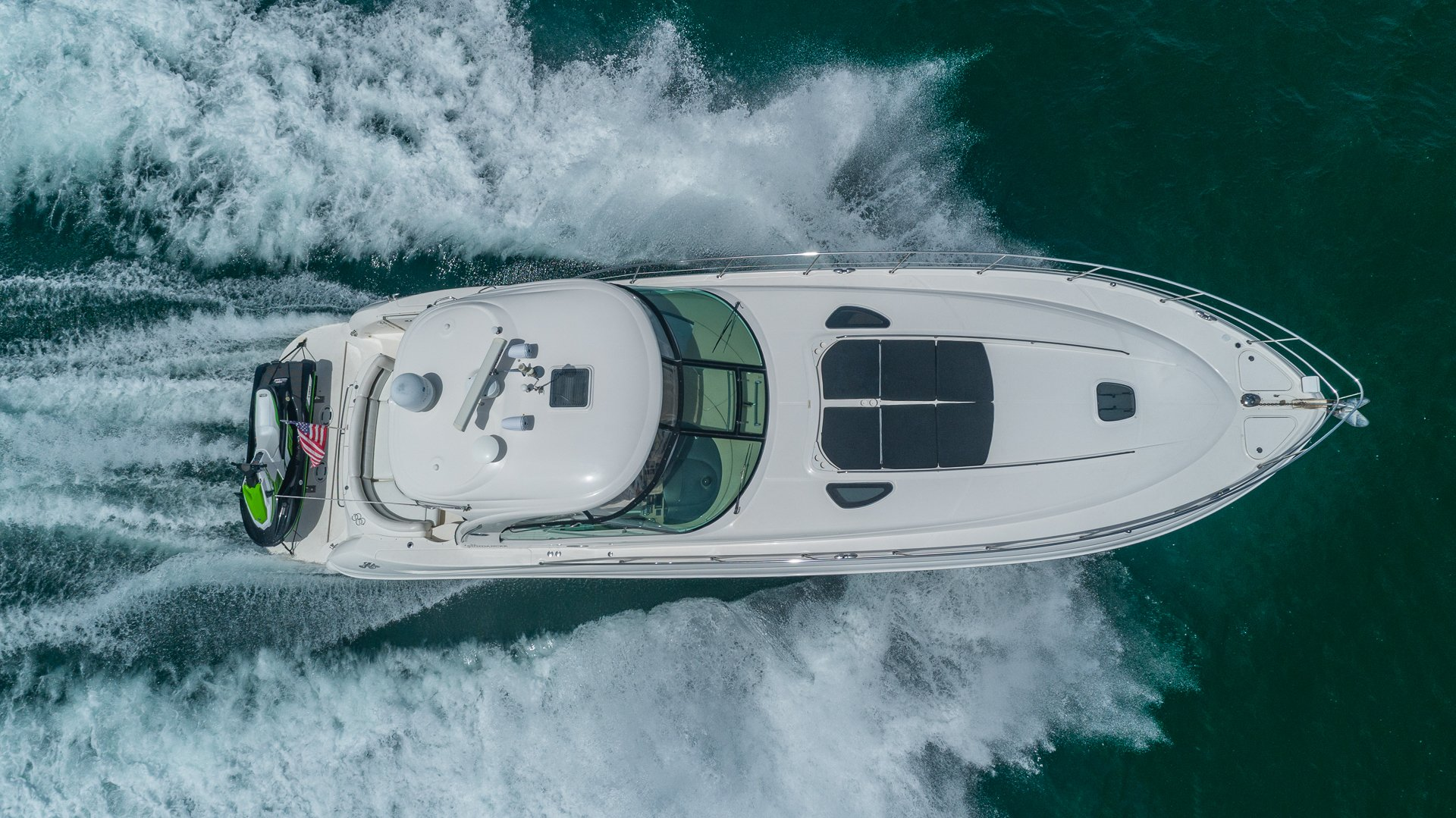 Image #4 of our  55′ SEARAY SUNDANCER   () In Miami Fort Lauderdale Palm Beach South Florida