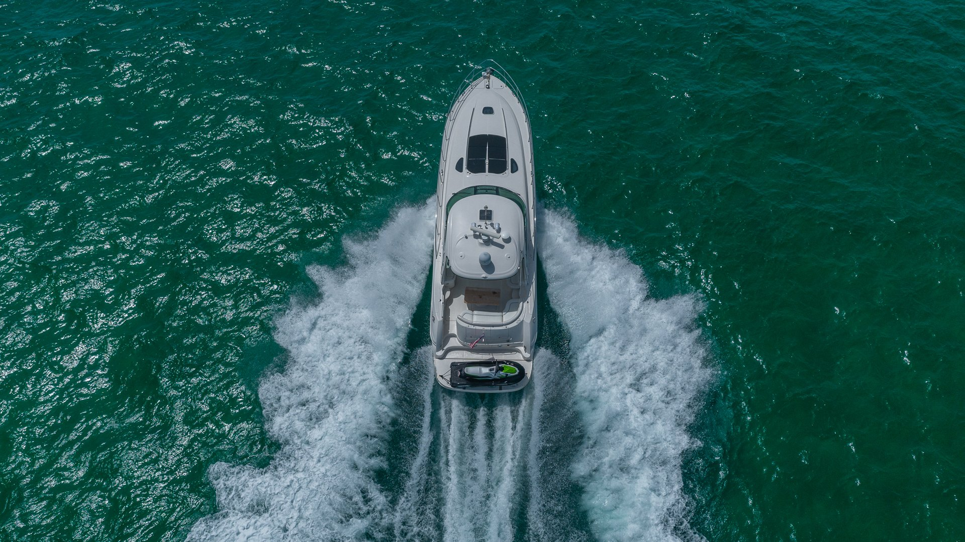 Image #6 of our  55′ SEARAY SUNDANCER   () In Miami Fort Lauderdale Palm Beach South Florida