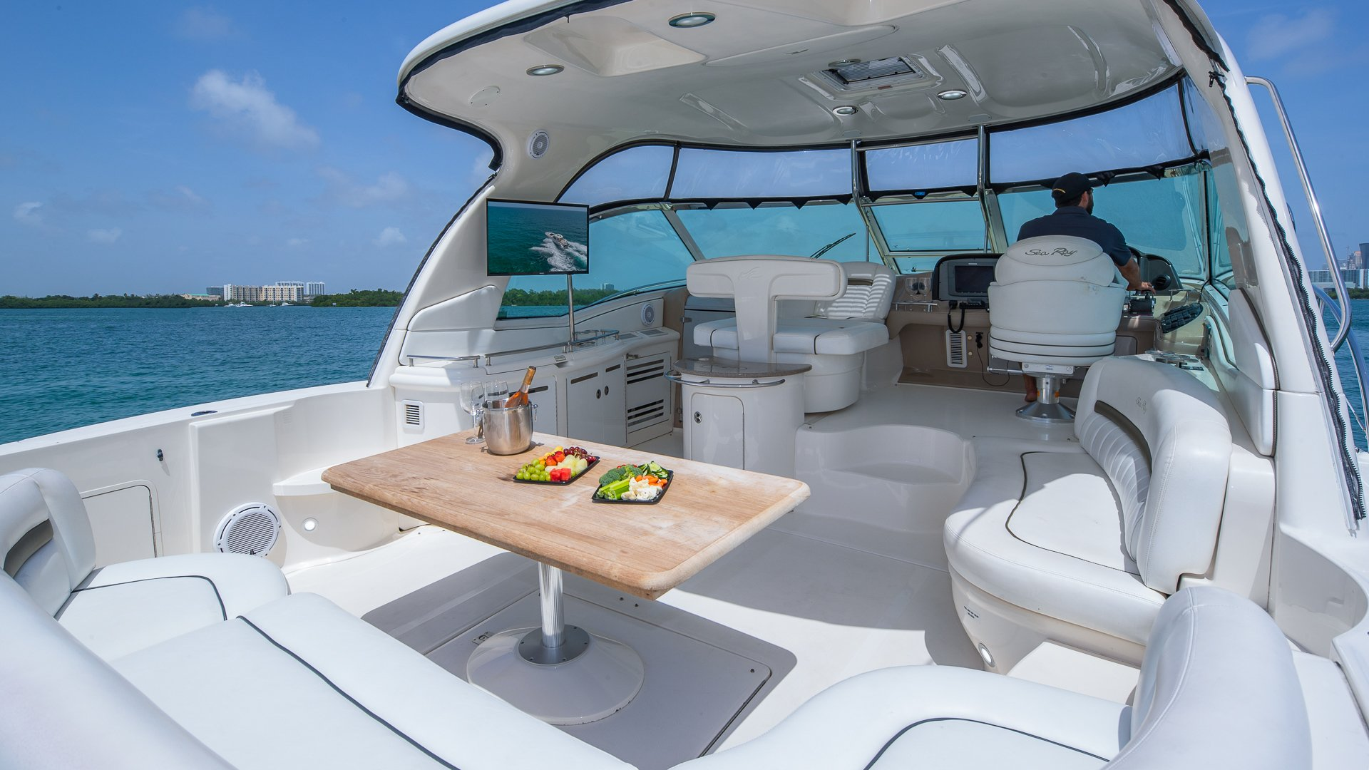 Image #10 of our  55′ SEARAY SUNDANCER   () In Miami Fort Lauderdale Palm Beach South Florida