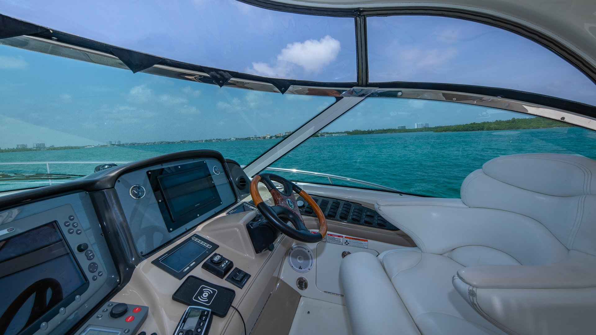 Image #12 of our  55′ SEARAY SUNDANCER   () In Miami Fort Lauderdale Palm Beach South Florida