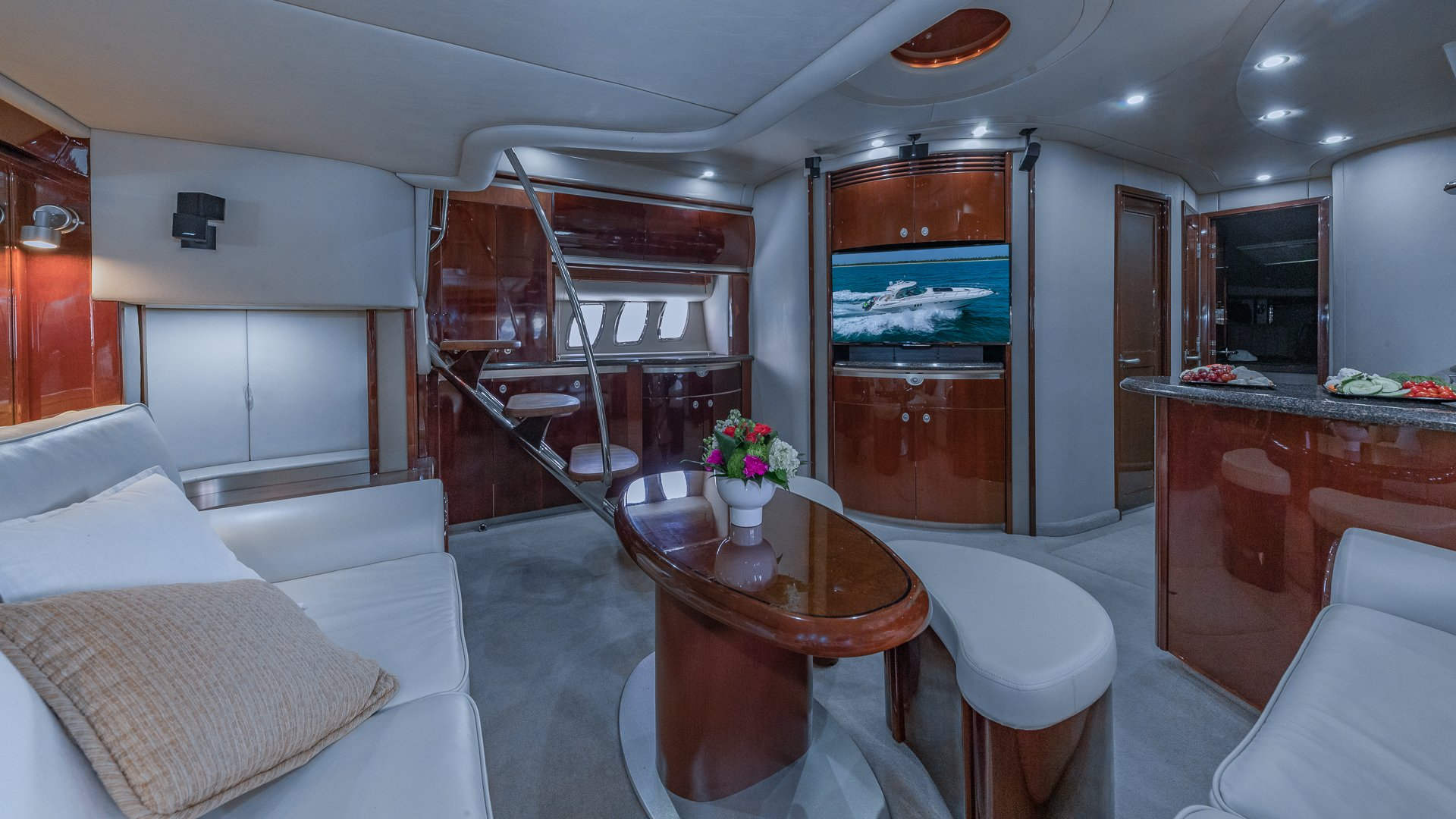 Image #13 of our  55′ SEARAY SUNDANCER   () In Miami Fort Lauderdale Palm Beach South Florida