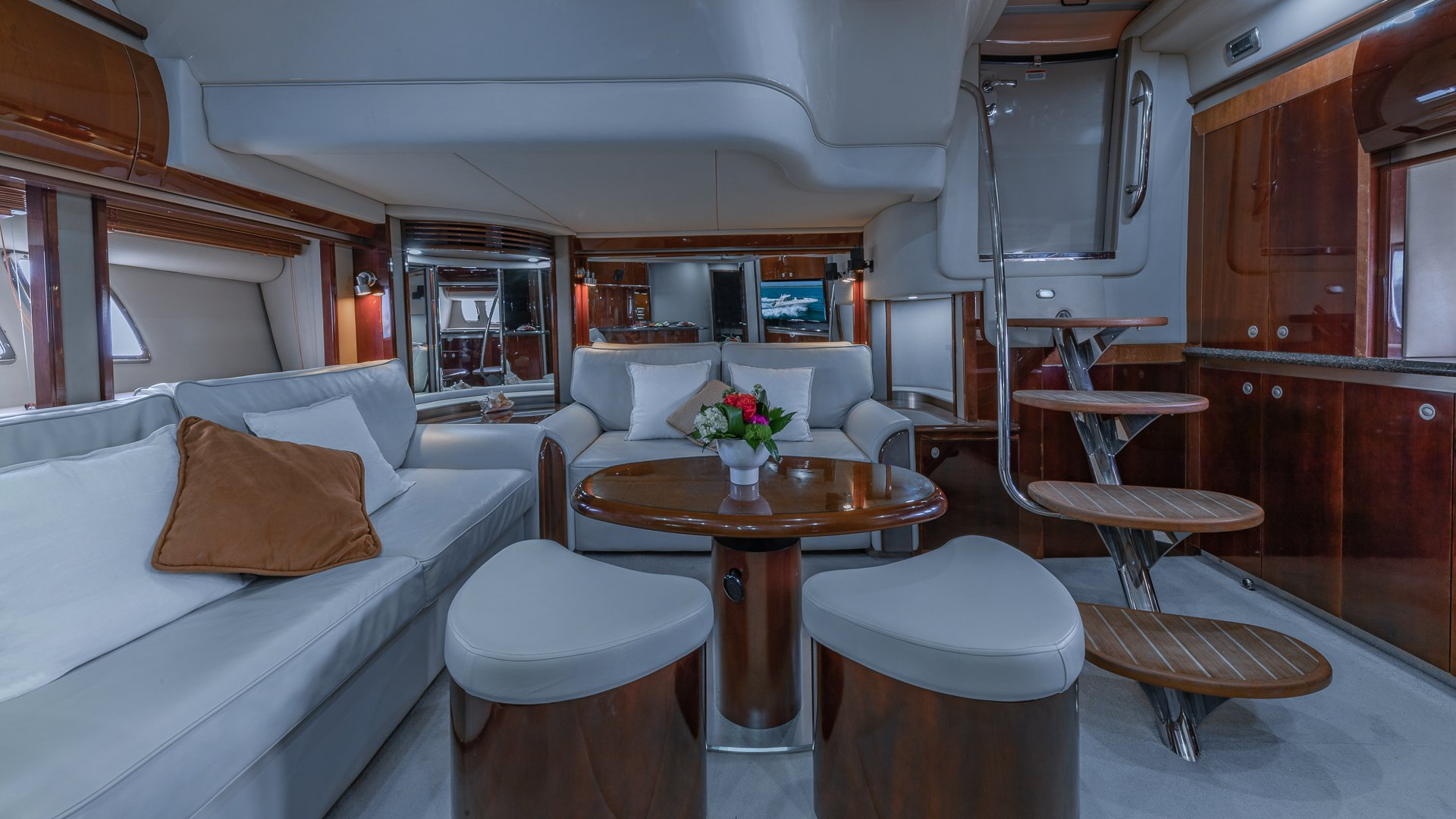 Image #14 of our  55′ SEARAY SUNDANCER   () In Miami Fort Lauderdale Palm Beach South Florida