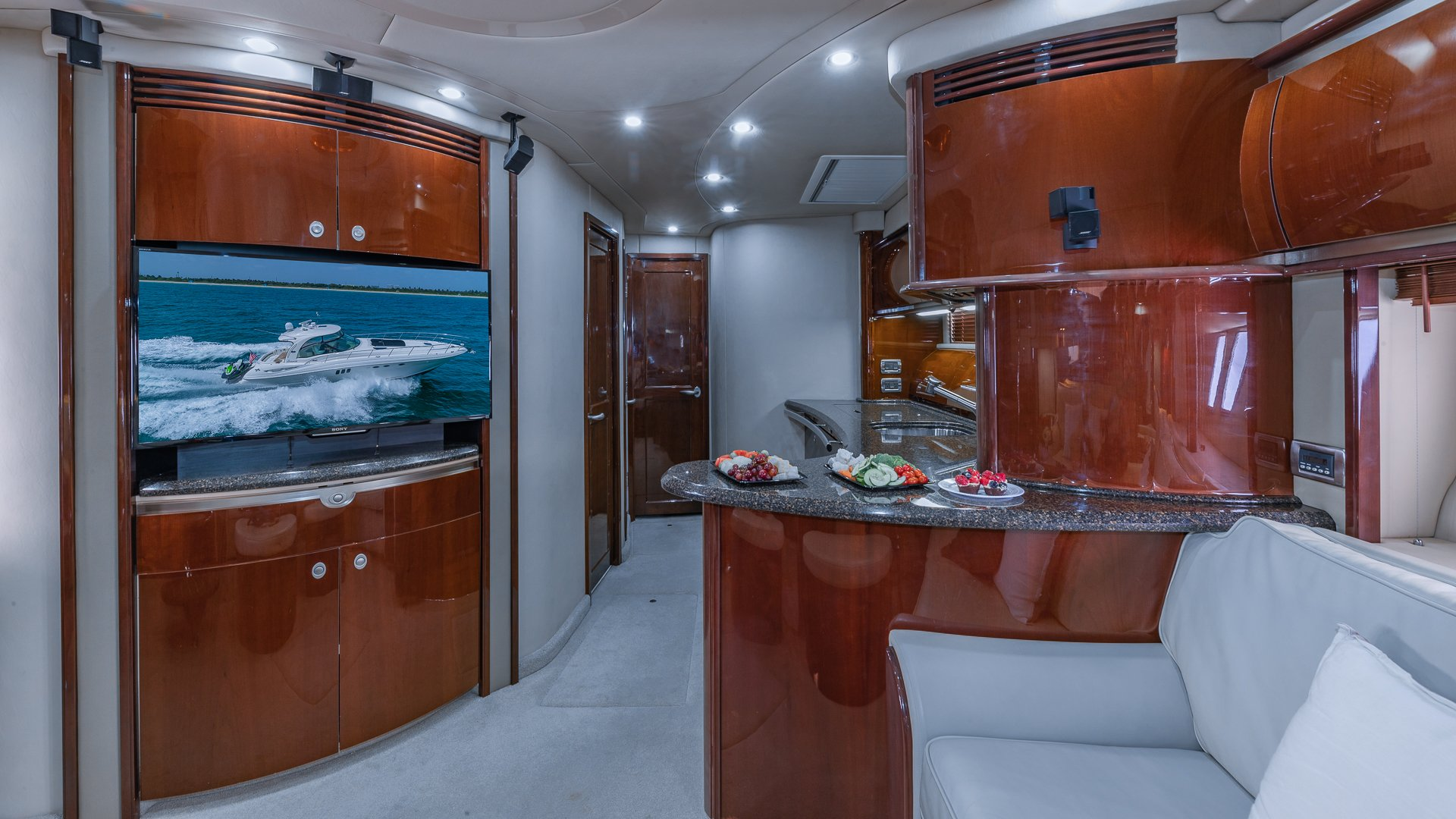 Image #15 of our  55′ SEARAY SUNDANCER   () In Miami Fort Lauderdale Palm Beach South Florida