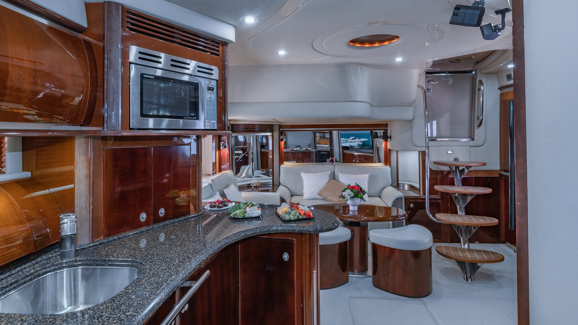 Image #16 of our  55′ SEARAY SUNDANCER   () In Miami Fort Lauderdale Palm Beach South Florida