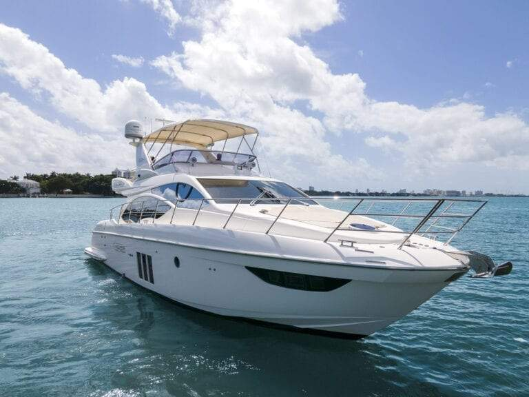 Image #0 of our  55′ AZIMUT   () In Miami Fort Lauderdale Palm Beach South Florida