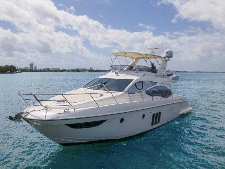 Image #2 of our  55′ AZIMUT   () In Miami Fort Lauderdale Palm Beach South Florida