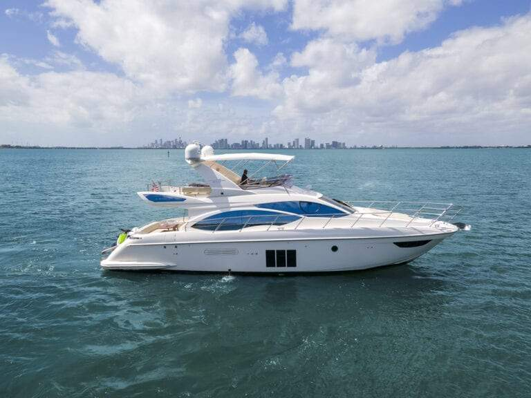 Image #3 of our  55′ AZIMUT   () In Miami Fort Lauderdale Palm Beach South Florida