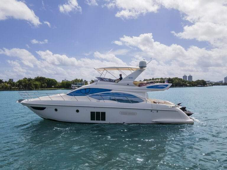 Image #4 of our  55′ AZIMUT   () In Miami Fort Lauderdale Palm Beach South Florida