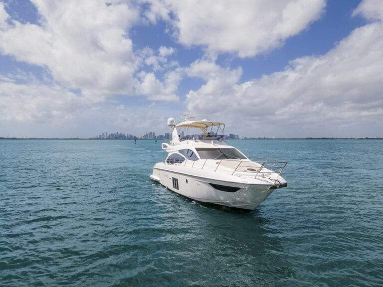Image #6 of our  55′ AZIMUT   () In Miami Fort Lauderdale Palm Beach South Florida