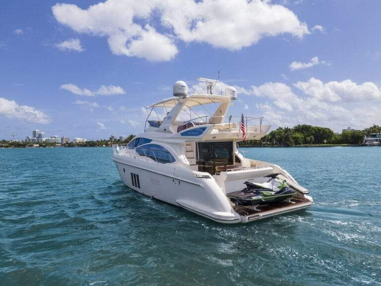 Image #7 of our  55′ AZIMUT   () In Miami Fort Lauderdale Palm Beach South Florida
