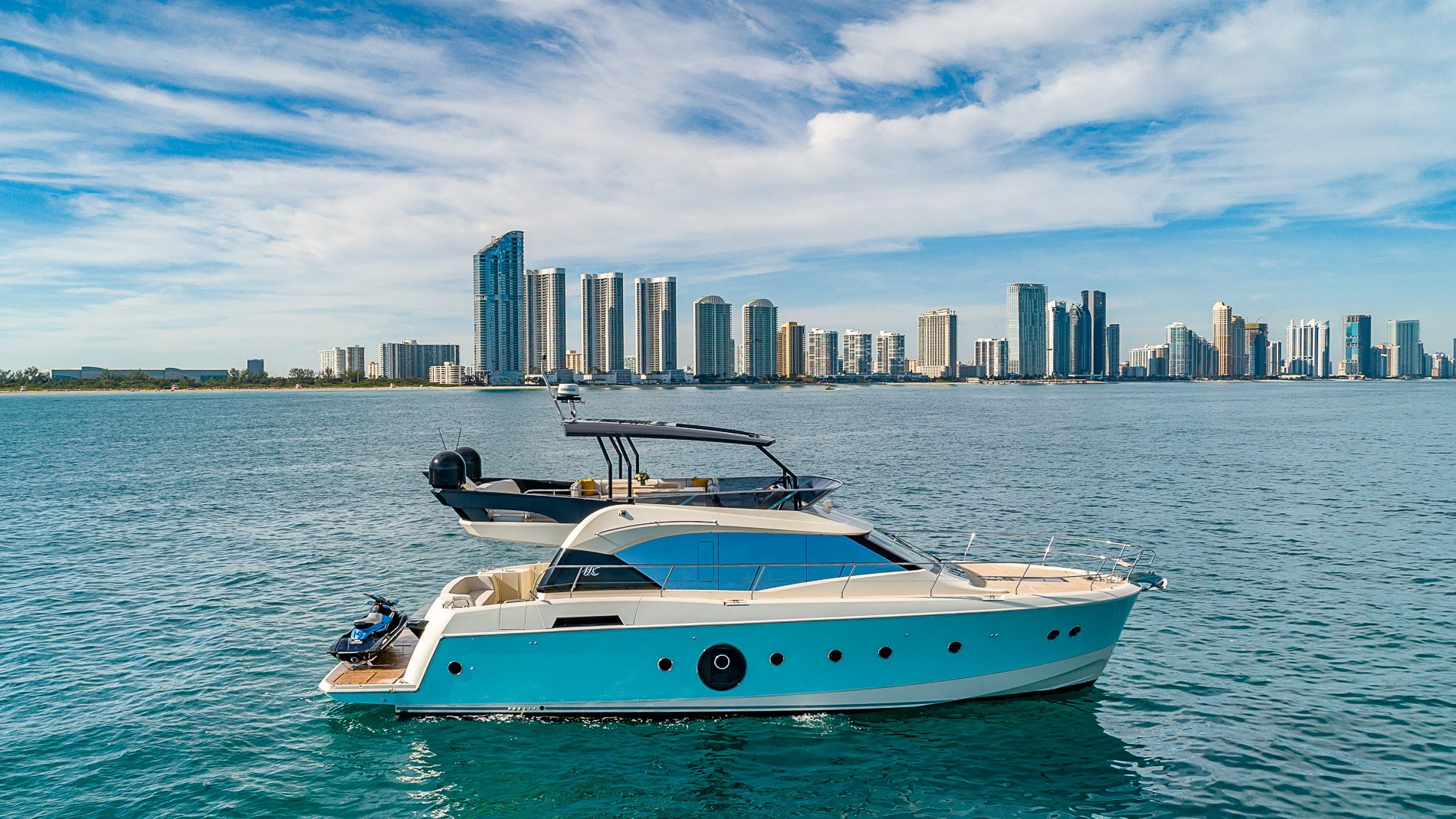 Image #0 of our  65′ MONTE CARLO   () In Miami Fort Lauderdale Palm Beach South Florida