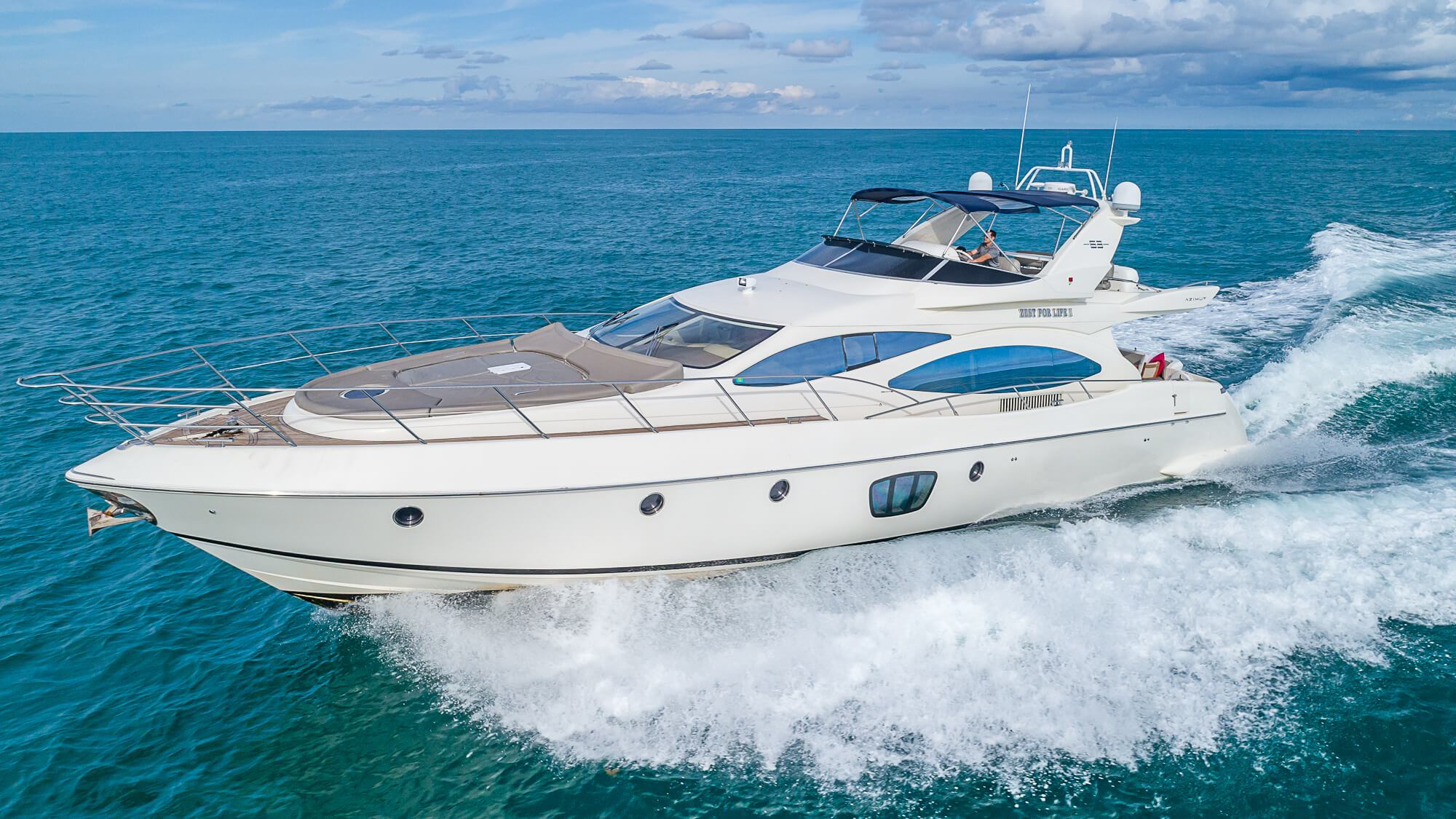 Image #0 of our  68′ AZIMUT   () In Miami Fort Lauderdale Palm Beach South Florida