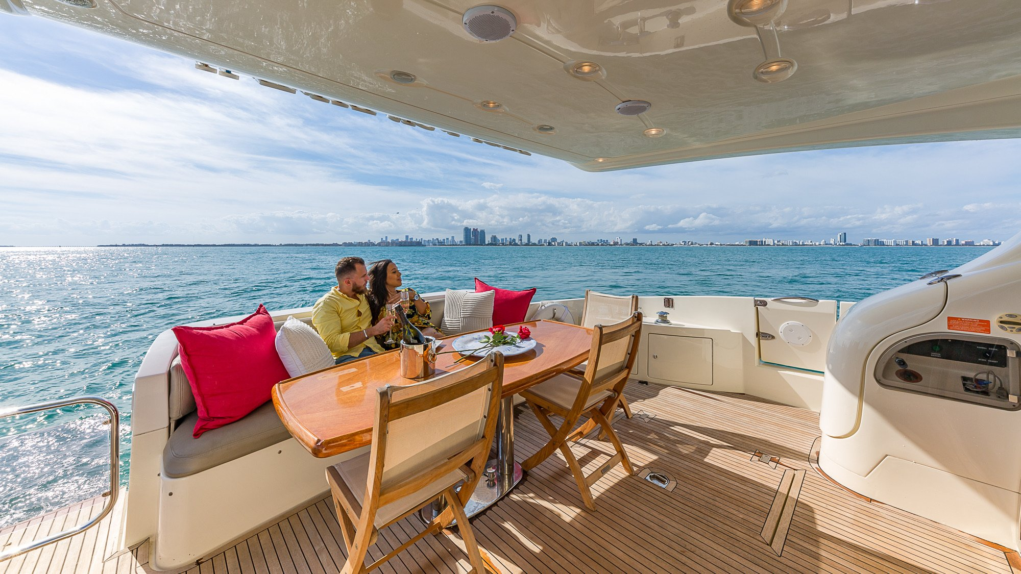 Image #1 of our  68′ AZIMUT   () In Miami Fort Lauderdale Palm Beach South Florida