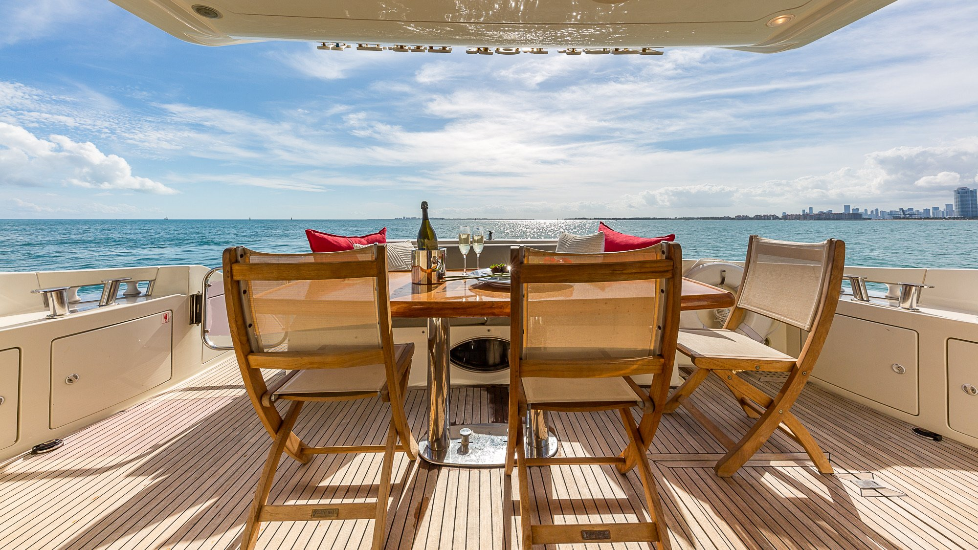 Image #2 of our  68′ AZIMUT   () In Miami Fort Lauderdale Palm Beach South Florida