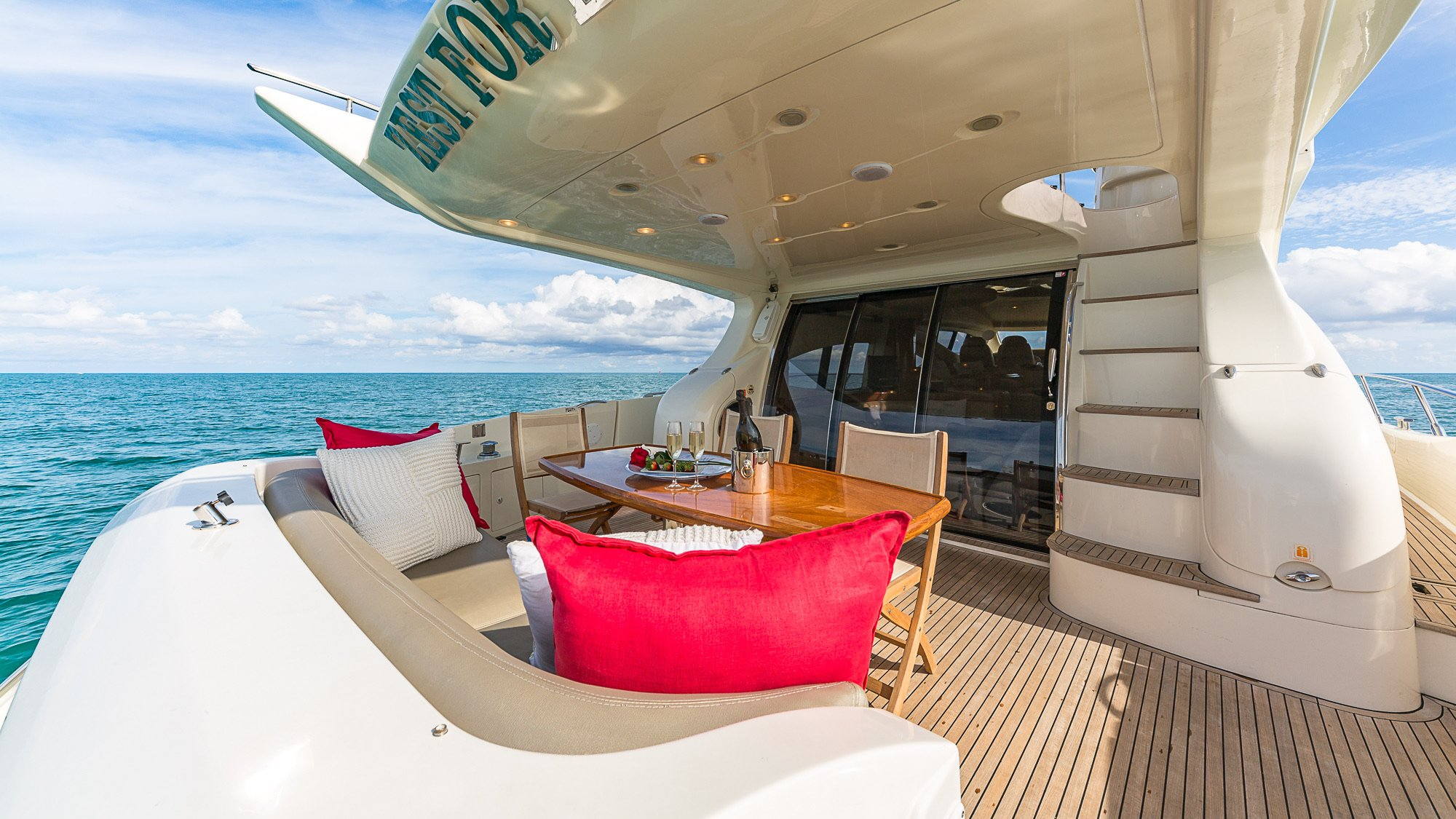 Image #3 of our  68′ AZIMUT   () In Miami Fort Lauderdale Palm Beach South Florida