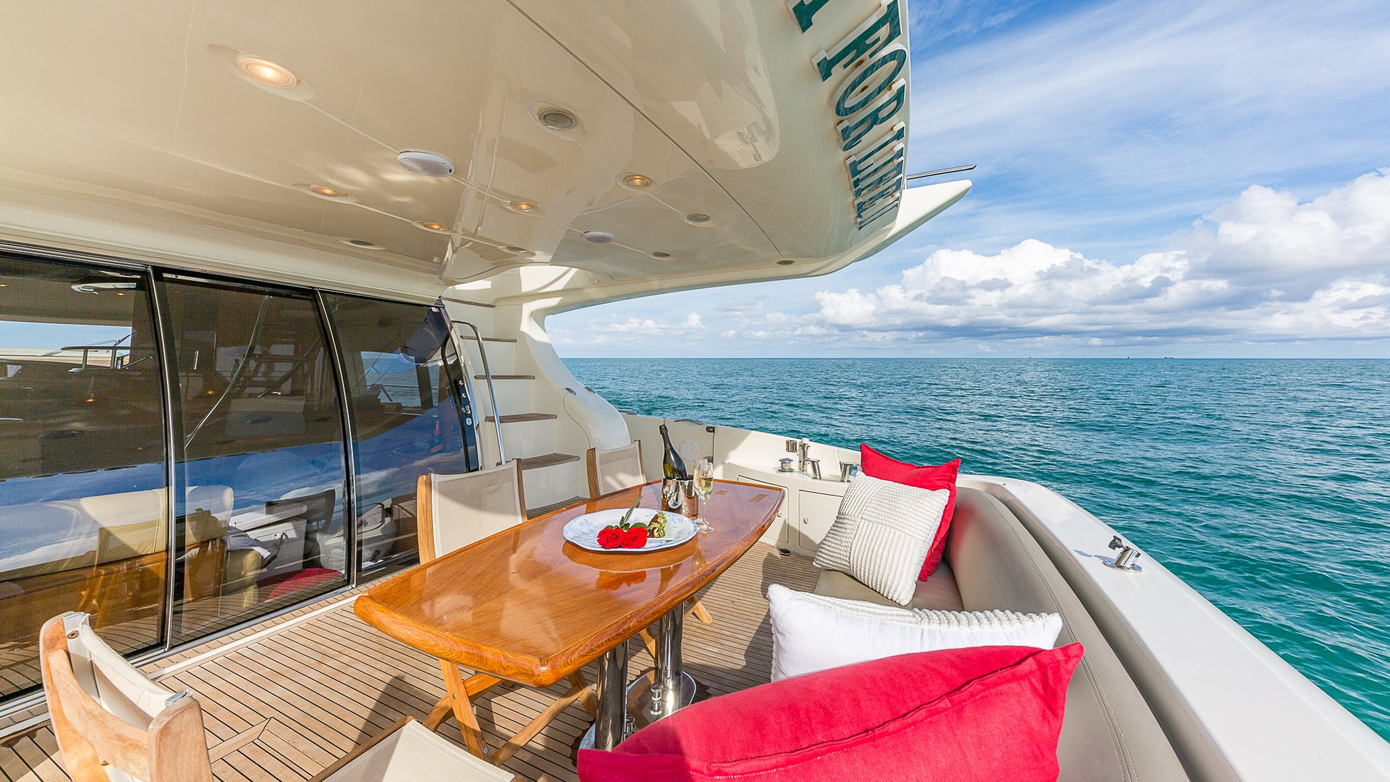 Image #4 of our  68′ AZIMUT   () In Miami Fort Lauderdale Palm Beach South Florida