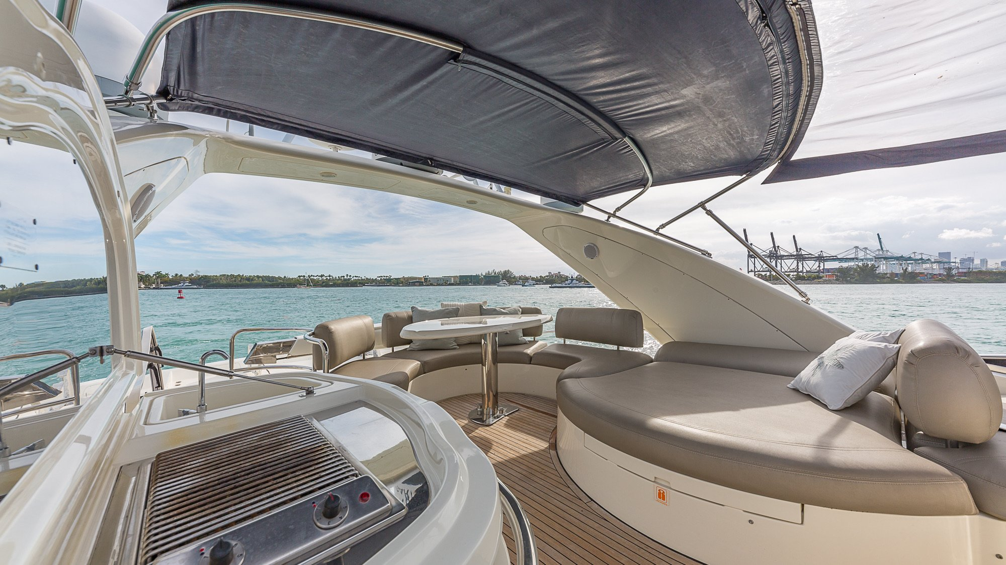 Image #6 of our  68′ AZIMUT   () In Miami Fort Lauderdale Palm Beach South Florida