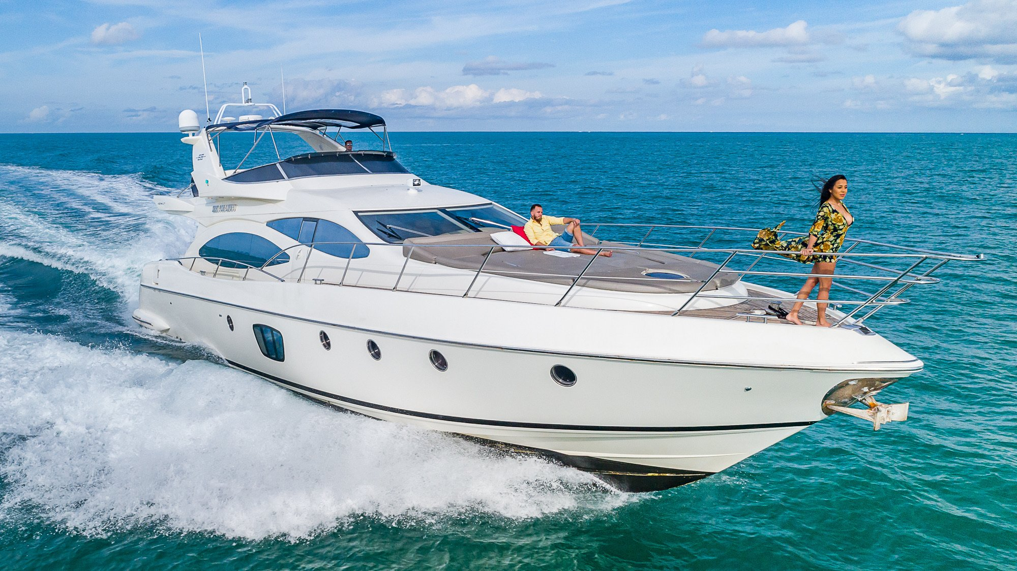 Image #20 of our  68′ AZIMUT   () In Miami Fort Lauderdale Palm Beach South Florida