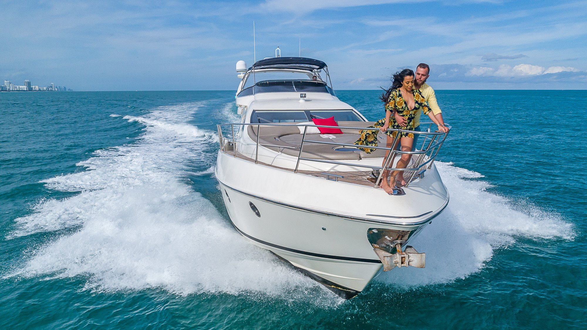 Image #21 of our  68′ AZIMUT   () In Miami Fort Lauderdale Palm Beach South Florida
