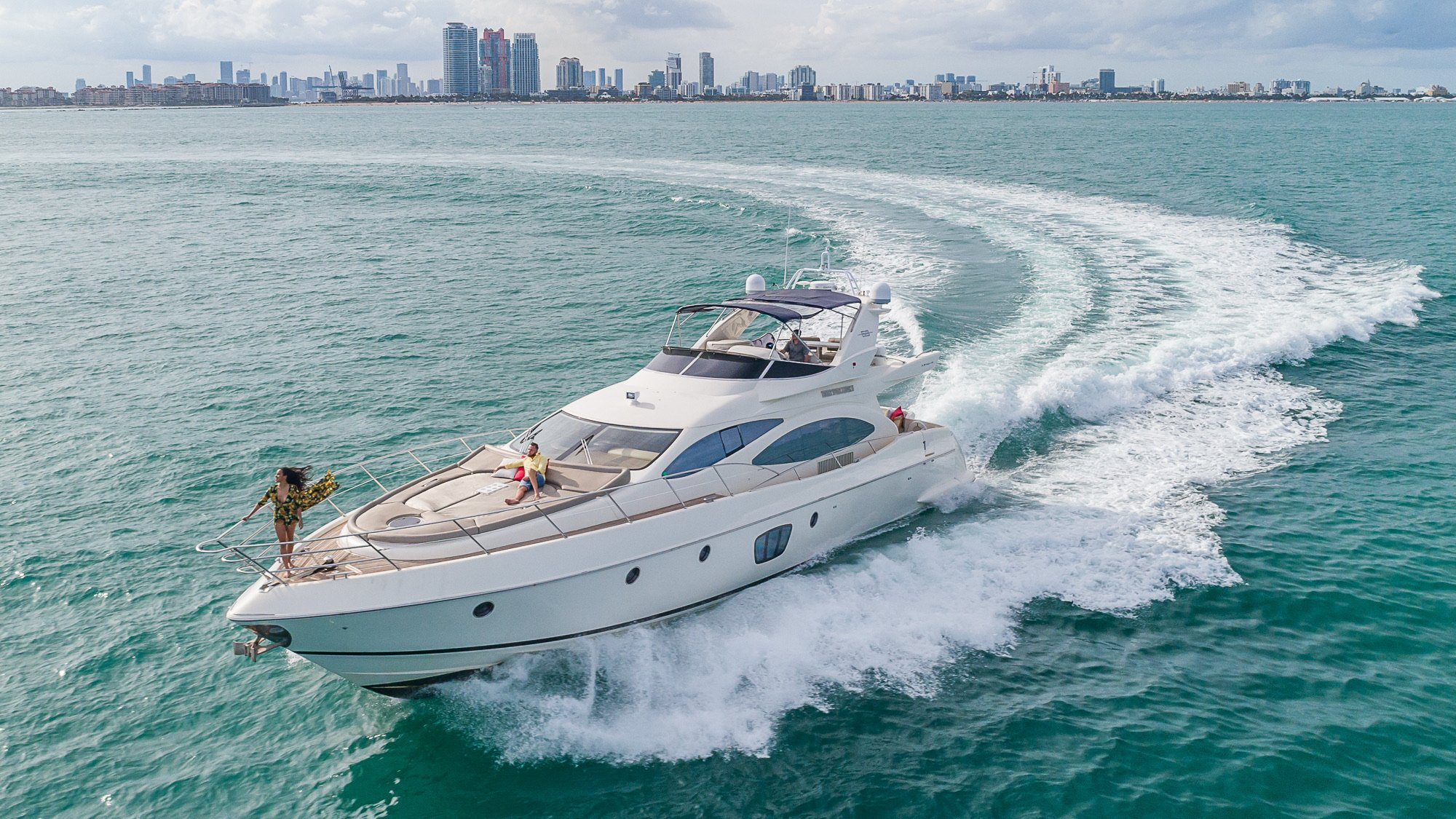 Image #22 of our  68′ AZIMUT   () In Miami Fort Lauderdale Palm Beach South Florida