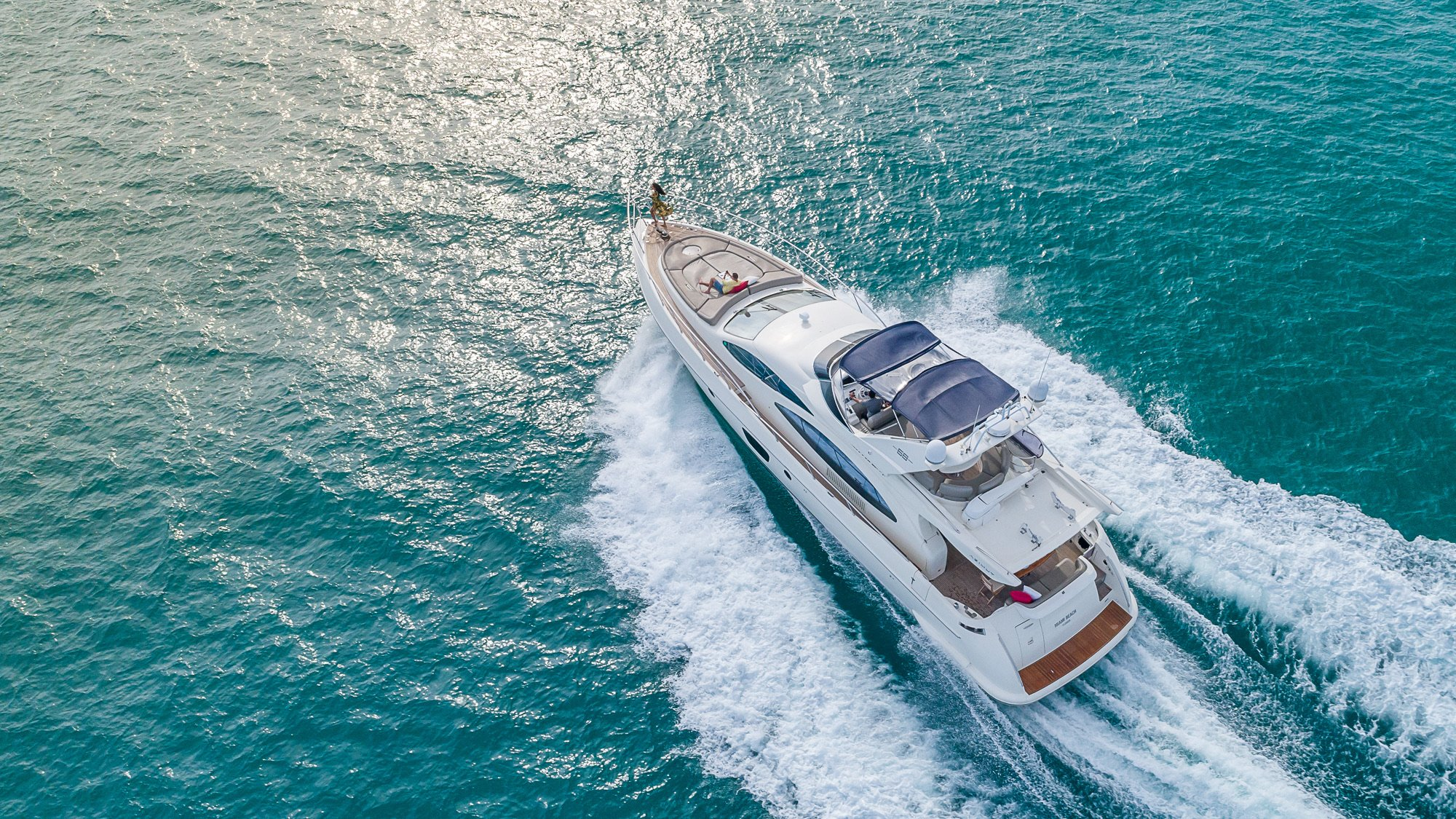 Image #24 of our  68′ AZIMUT   () In Miami Fort Lauderdale Palm Beach South Florida