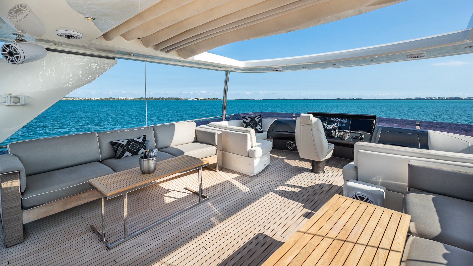 Image #3 of our  88′ PRINCESS   () In Miami Fort Lauderdale Palm Beach South Florida