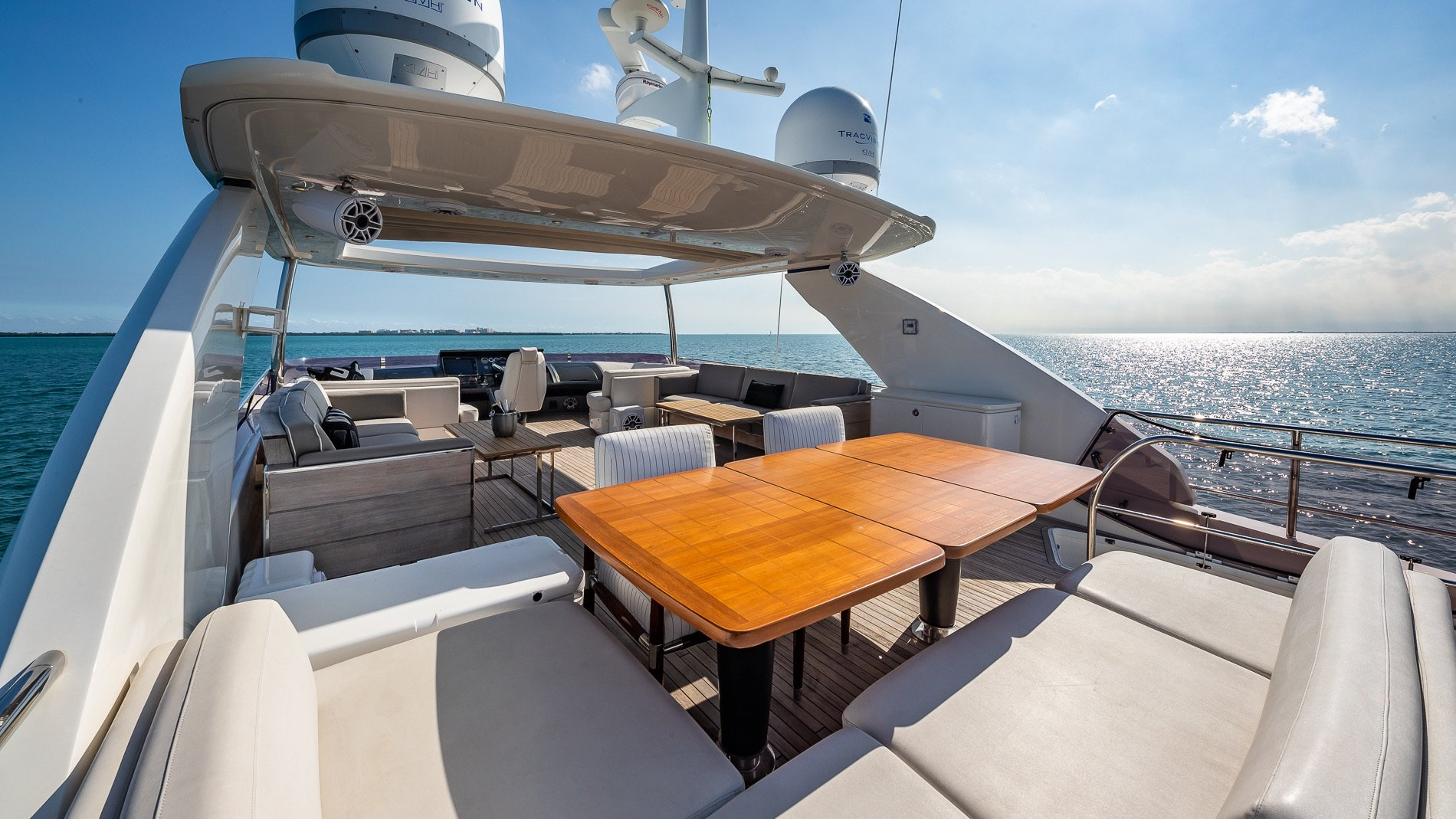 Image #2 of our  88′ PRINCESS   () In Miami Fort Lauderdale Palm Beach South Florida
