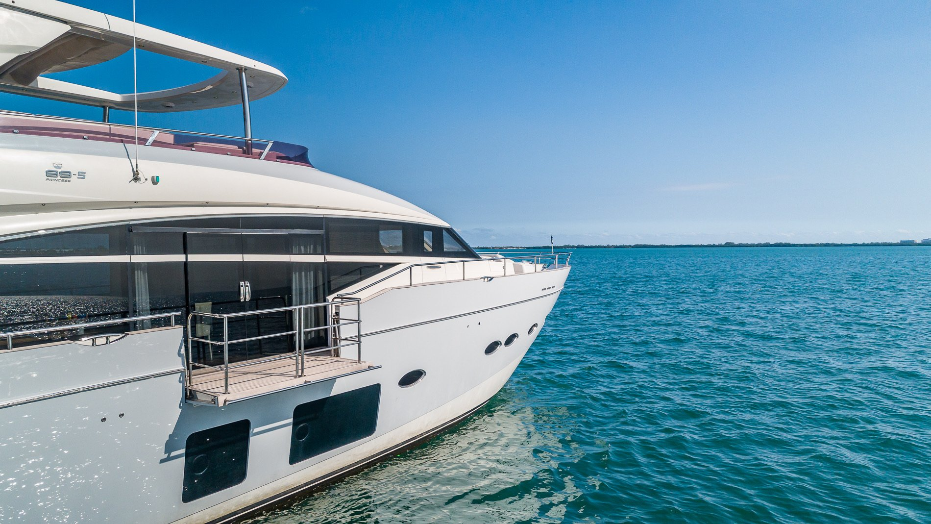 Image #11 of our  88′ PRINCESS   () In Miami Fort Lauderdale Palm Beach South Florida