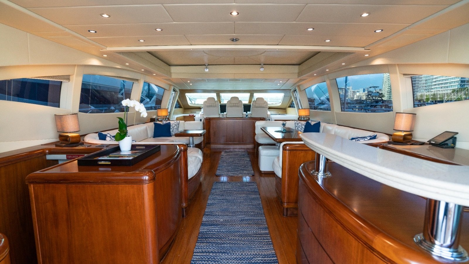 Image #3 of our  92′ MANGUSTA   () In Miami Fort Lauderdale Palm Beach South Florida