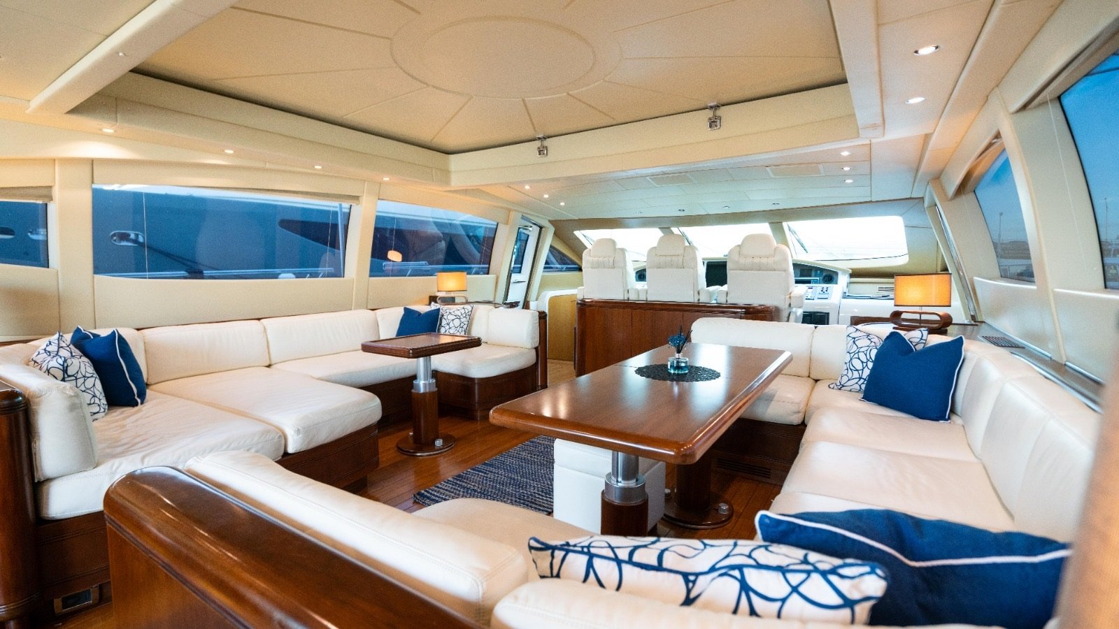 Image #4 of our  92′ MANGUSTA   () In Miami Fort Lauderdale Palm Beach South Florida