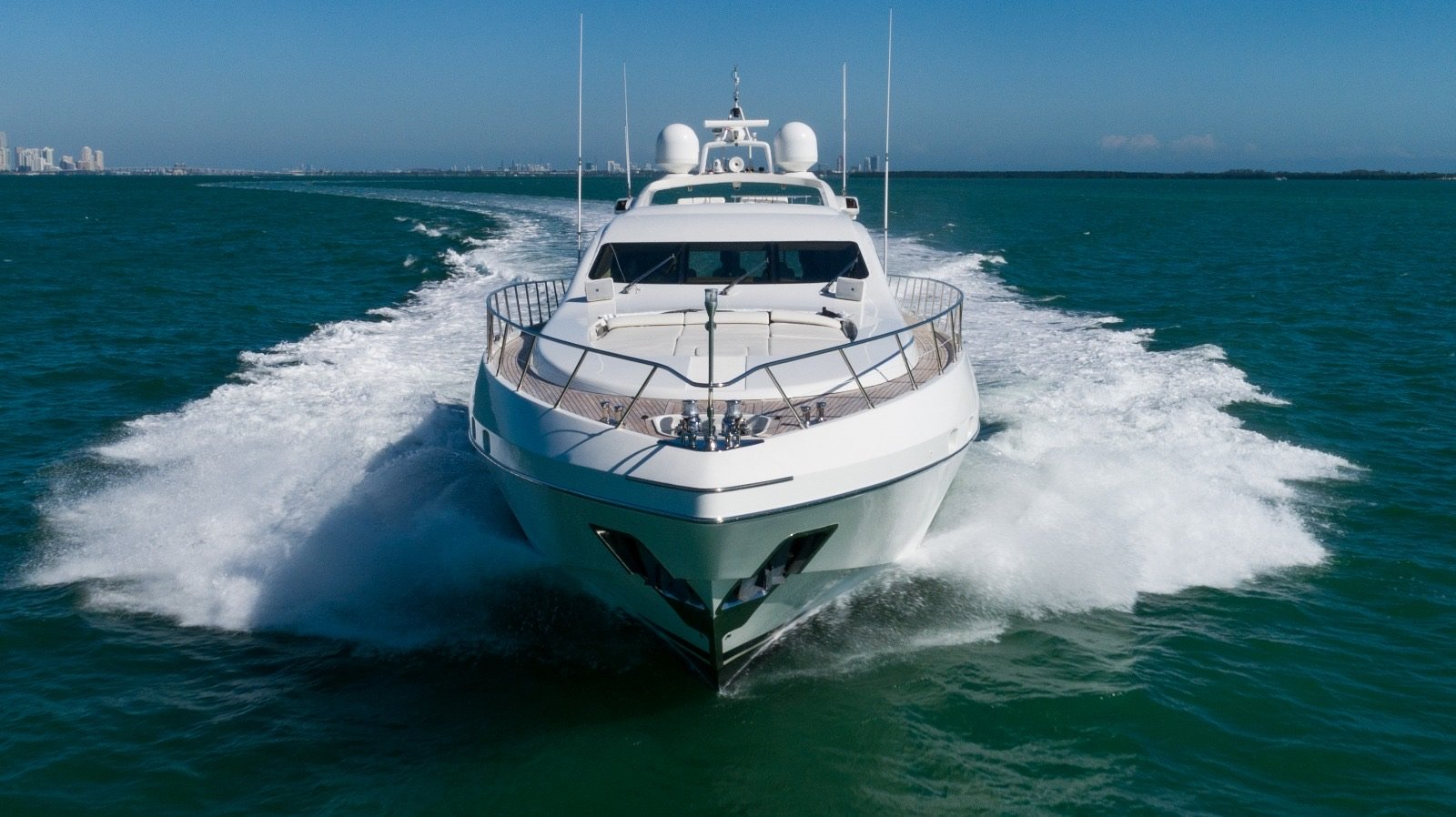 Image #7 of our  92′ MANGUSTA   () In Miami Fort Lauderdale Palm Beach South Florida