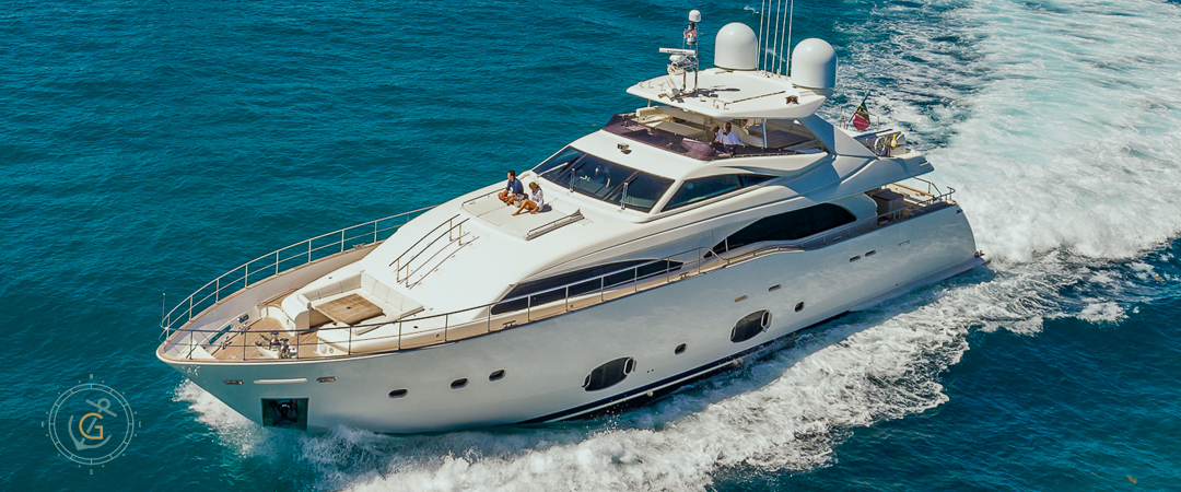 Image #1 of our  97′ FERRETTI   () In Miami Fort Lauderdale Palm Beach South Florida