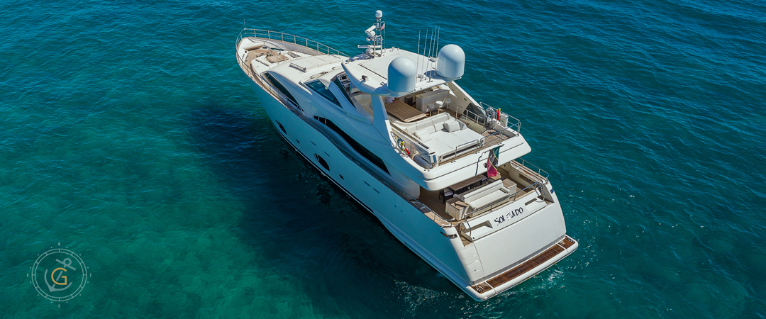 Image #2 of our  97′ FERRETTI   () In Miami Fort Lauderdale Palm Beach South Florida