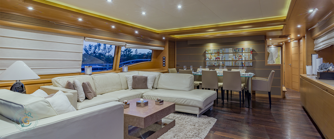 Image #7 of our  97′ FERRETTI   () In Miami Fort Lauderdale Palm Beach South Florida