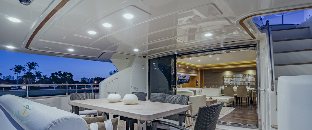 Image #8 of our  97′ FERRETTI   () In Miami Fort Lauderdale Palm Beach South Florida