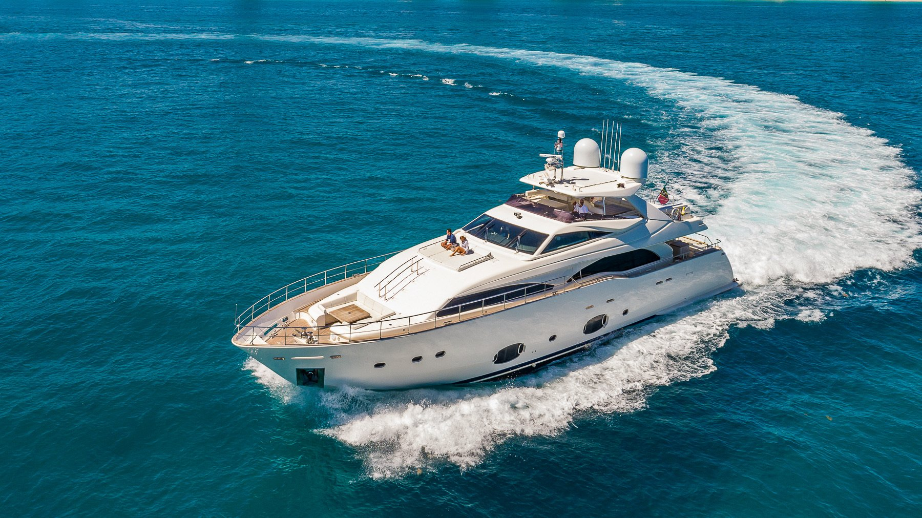 Image #10 of our  97′ FERRETTI   () In Miami Fort Lauderdale Palm Beach South Florida