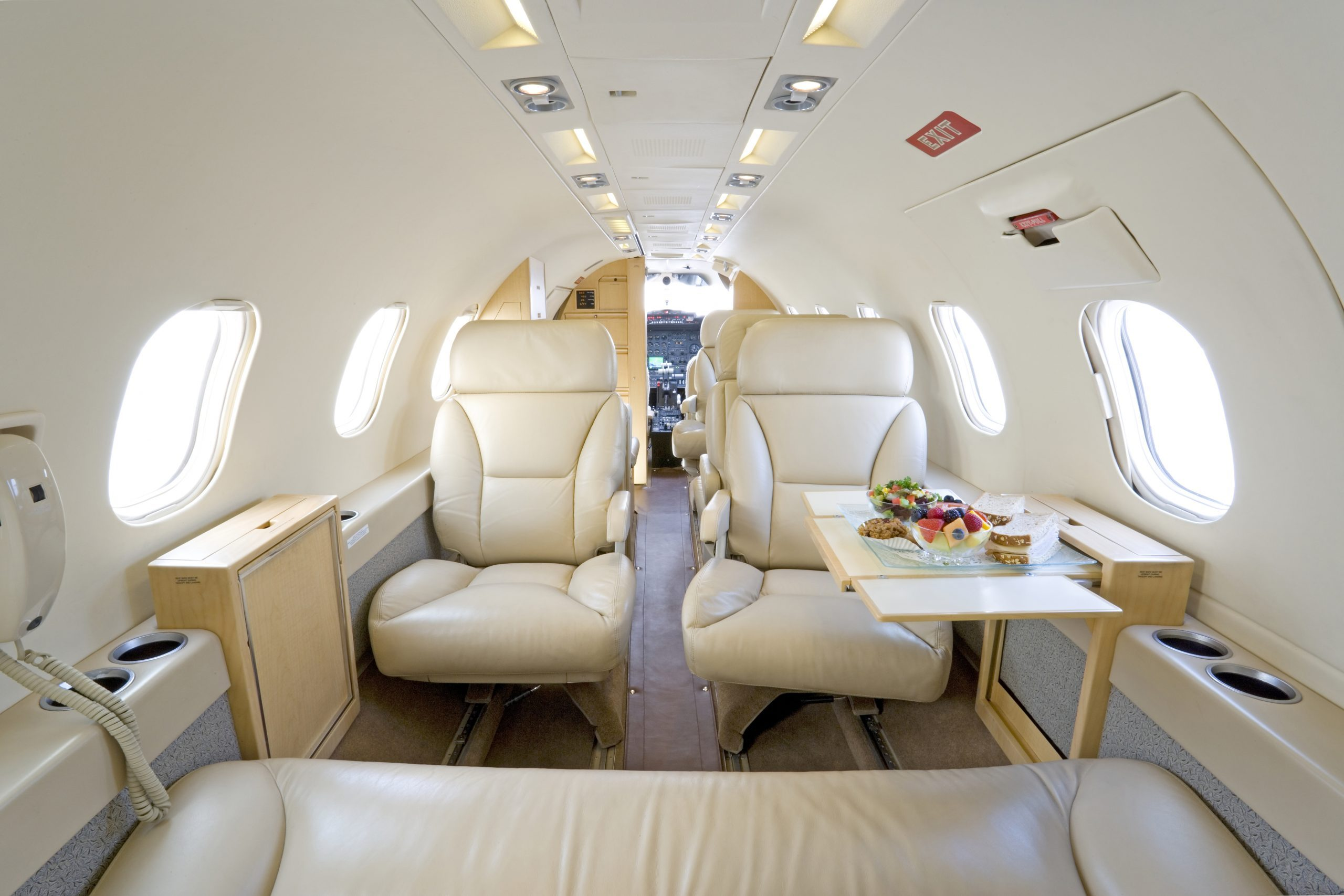 Image #2 of our  Lear 35    In Miami Fort Lauderdale Palm Beach South Florida